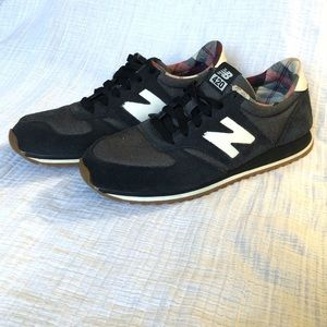 New Balance 420 Navy Blue Sneakers Shoe